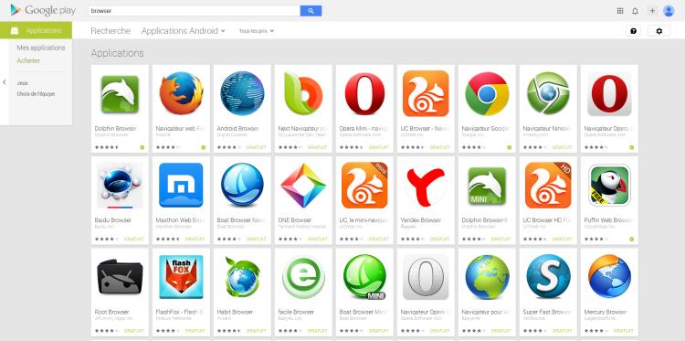 Votre Navigateur Internet Android Qc Gadget